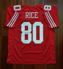 Jerry Rice Autographed Signed Jersey San Francisco 49ers PSA DNA