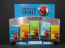 Tin Natural American Spirit Cigarette Advertising Sign Natural Tobacco Bar #572