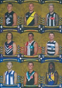2021 afl teamcoach gold card you choose your card updated weekly