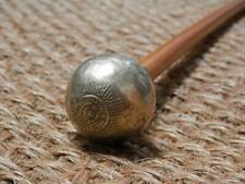 WW2 Swagger Stick With The Royal Scots Gold Plate Ball Top - 504925I