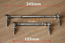 Splitter/DIFFUSORE SUPPORTO ASTE veloci staccabile in acciaio inox 15-25cm V6