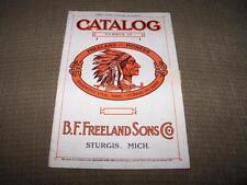 1922 VINTAGE FREELAND-PIONEER GALVANIZED STEEL TANKS CATALOG ILLUSTRATED FARMING