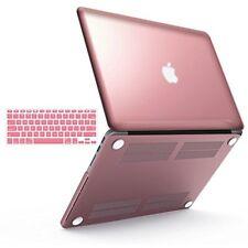 IBenzer Old Apple Macbook Pro 13 Rubber Hard Case & Keyboard Skin Rose Gold