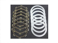 Honda Clutch Fiber Disc & Steel Plate Set Kit Disk CB250 Night Hawk CMX250 REBEL