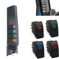 Left Hand Side A Pillar 4 Switch Pod Panel Kit Fit For Jeep Wrangler JK 11-17
