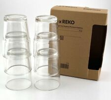 Set of 6 Ikea Reko Juice Glasses 6 oz. Knut Hagberg Marianne Hagberg
