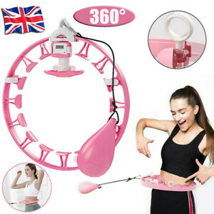 Hula Hoop Auto Counting Detachable Hoops Lose Weight Fitness Sports 360° Massage