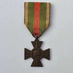 Croix du Combattant Volontaire 1914-1918, gros module, bronze
