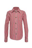 """Schönes traditionelles Trachtenhemd """"Exklusiv"""" von Trachtenkini (rot)"""