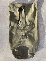 Vintage Us Military 1953 Army Duffel Bag Heavy Cotton Canvas