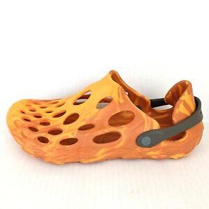Merrell Flame Orange Men's Size 10 Hydro Moc Hiking Shoes Sandals
