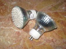 4 AMPOULES LED GU10 60LEDS 220V 3,6W cold white ECONOMIQUE 45W 6000-6500K 270lm