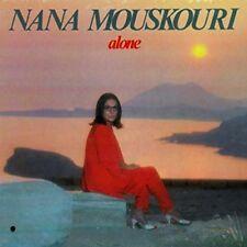 Nana Mouskouri - alone RARE OOP ORIG 1985 Canadian Vinyl Greek Folk Vinyl NEW LP