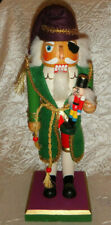 """2007 Wooden Pirate 14"""" Collectible Christmas Nutcracker Limited Edition"""