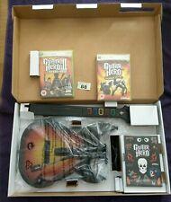 GUITAR HERO WORLD TOUR GUITAR BUNDLE - MICROSOFT XBOX 360 - 2 SEALED GAMES (88)