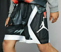 NIKE X JORDAN PSG Paris Saint Germain - Blocked Diamond Basketball Shorts XXL