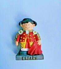 Spain Espana Bullfighter 3D Resin Tourist Travel Souvenir Gift Fridge Magnet