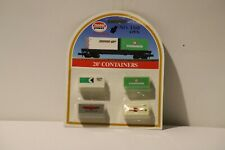 Model Power #1360 Container 20' N Scale 4 pack w Free ship!