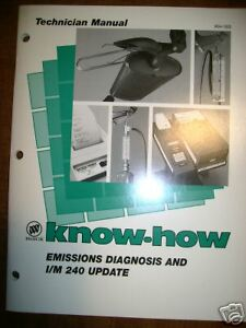 Buick Emissions Diagnosis I/M 240 Update Training Book