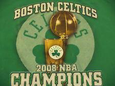 BOSTON CELTICS 2008 NBA CHAMPIONS t shirt sz XL SUPERB COND EUC