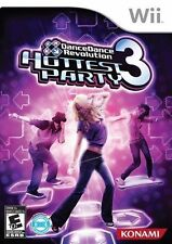 DANCE DANCE REVOLUTION HOTTEST PARTY 3 Nintendo Wii Game - Mat Included