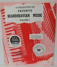 SCANDINAVIAN MUSIC for ACCORDION Schottische & Waltz Sheet Music Book
