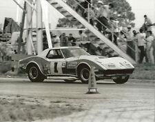 Vintage 8 X 10 1969 Sebring Owens Corning Corvette No. 1 Auto Racing Photo