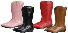 NIB~BOUTIQUE~LAMOUR~L'AMOUR~COWBOY BOOTS~RED LEATHER~SIZE 5~SALE