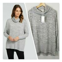 [ SEED HERITAGE ] Womens Cosy Cowl Neck Top NEW + TAGS  | Size XS or AU 8 / US 4