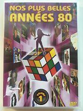 Nos plus belles années 80 volume 1 DVD NEUF SOUS BLISTER 26 clips cultes