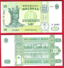 R* MOLDOVA BANKNOTE 20 LEI 2013 UNC CRISP