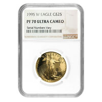 1995 W 1/2 oz $25 Proof Gold American Eagle NGC PF 70 UCAM