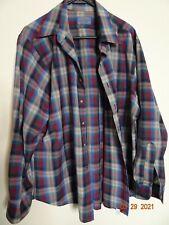 Vintage Sir Pendleton Long Sleeved Wool Shirt Made in Usa Sz Xl