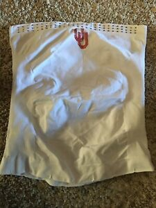 Womens Tube Top White NWOT One Size rhinestones With Red OU Accent