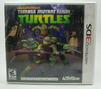 Nickelodeon Teenage Mutant Ninja Turtles Nintendo 3DS 2013 Tested TMNT