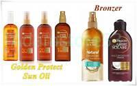 Garnier Ambre Solaire Protective Sun Oil SPF Natural Bronzer - Skin Tan 150 ml