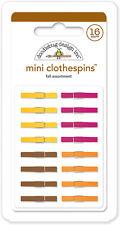 Doodlebug Design Mini Clothespins Fall 4436