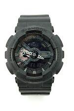 Casio 5146 G-Shock GA-110 Mens Black Subdued Sports Watch Quartz