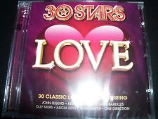 30 Stars Love Various 2 CD (One Direction The Script Train John Legend Rita Ora)