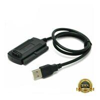 USB zu IDE SATA-Adapterkabel für Laptop 2.5''/3.5''Externe Festplattenfestplatte