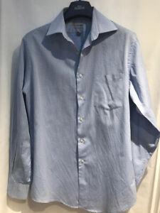 "Van Heusen Shirt checked Blue 15 1/2"" Collar 32/33"" Chest Size"
