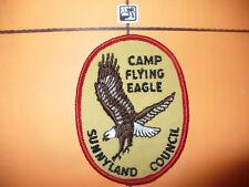 1972 Camp Flying Eagle Patch,pp, Sunny Land Council,BSA,CB,OA 219,552,Florida,FL