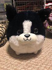 Nwt Cardigan Welsh Corgi Dog Chubby Plush Toy Black White