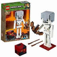LEGO 21150 Minecraft Skeleton BigFig Magma Cu Action Figure Building Set