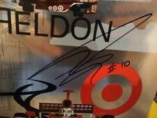 2007 DAN WHELDON,SCOTT DIXON SIGNED AUTOGRAPHED HERO PHOTO CARD