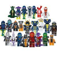 Ninjago Building Blocks Toys Minifigures Kids Mini Action Figures Set 24pcs