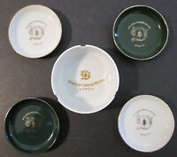 Vintage DOLDER GRAND HOTEL ZURICH ASHTRAY & 4 COASTERS by SUISSE LANGENTHAL