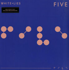 WHITE LIES Five (2018) 9-track 180g vinyl LP + MP3 NEW/SEALED Fear Of Flying