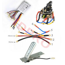 24v 500w Brushed Speed Controller Reverse Switch Foot Pedal Atv Scooter E-Bike