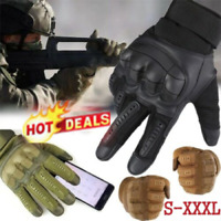 Men Tactical Hard Knuckle Gloves Army Military Combat Airsoft Shooting Hunting f
